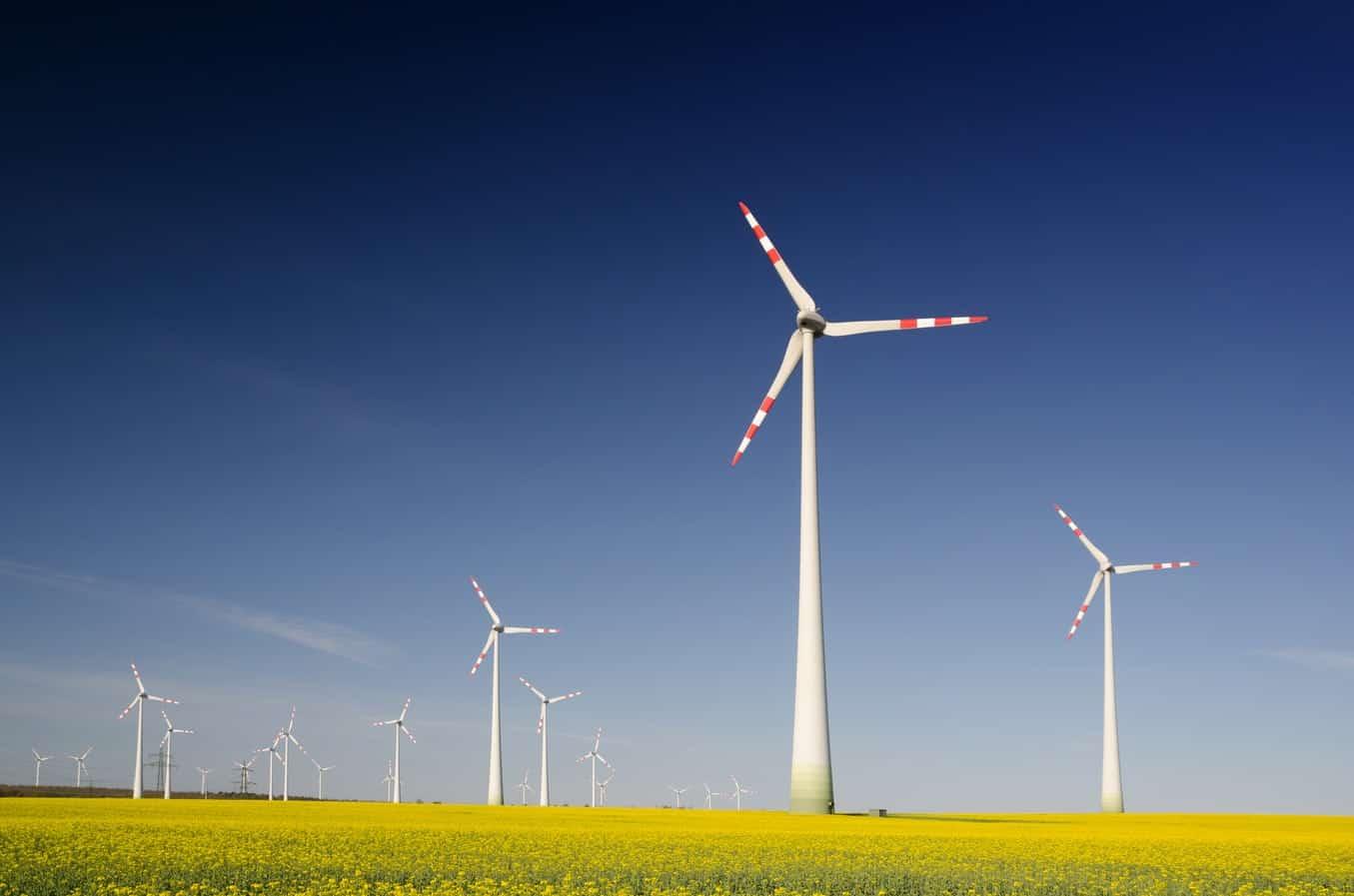 windmolenparken zijn toegenomen